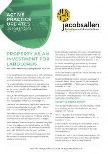 Property as investment