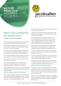 RD Tax Credits in Practice