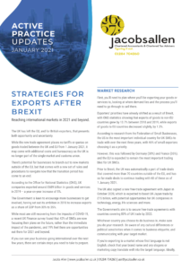 Strategies for exports after Brexit